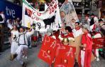 Dieciséis peñas se reparten las ayudas municipales destinadas a su participación en las fiestas de San Fermín