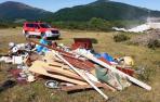 Se hace pasar por gestor de residuos para hacer un vertido ilegal