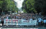 Un clamor de 3.000 personas da voz a los 239 empleados de Gamesa Aoiz