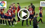 Vídeo del gol de Íñigo Pérez (Osasuna 2-2 Mallorca)