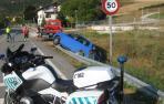 Salida de vía sin heridos en Sorauren