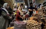 Un bazar en Teherán.