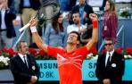 Djokovic suma su tercera corona en Madrid