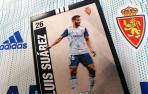 El Zaragoza se despide en las redes de Luis Suárez