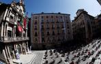 Galería: Actuación de Remedios Amaya desde los balcones del Ayuntamiento de Pamplona