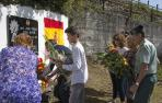 Homenaje en Leitza al cabo Beiro, asesinado por ETA hace 16 años