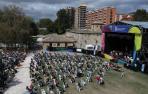 Imagen de la celebración del Alarde de Txistularis, este domingo en la Ciudadela.