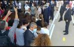 La reina Letizia visita el IES Ega en San Adrián