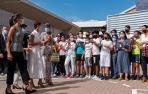 Visita real y bodas de plata en San Adrián