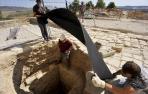 Las excavaciones en el castillo de Santacara sacan a la luz el aljibe