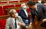 """El Parlament rechaza el """"enjuiciamiento"""" y la posible inhabilitación de Torra"""