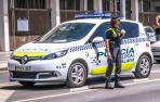 Una agente de la Policía Local de Málaga.