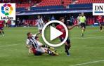Resumen del Osasuna-Levante: gol de Roger (1-2)