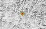 Tres nuevos temblores durante esta madrugada en Navarra, uno de 2,5 grados