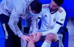 Preocupa la rodilla derecha de Calleri