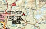 Dos nuevos terremotos esta madrugada en Lizoain y Esteribar