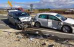 Imagen de dos de los vehículos implicados
