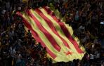 Miles de estudiantes se manifiestan en Cataluña a favor del referéndum