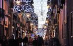 Pamplona enciende la Navidad con un millón de puntos de luz led