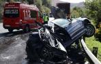 Los accidentes caen un 32% este año, que suma 17 muertos y 84 heridos graves