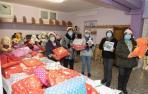 Reparto de juguetes solidarios en Tudela