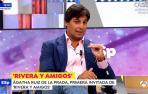 El torero Fran Rivera, durante su estreno como entrevistador en 'Espejo Público'