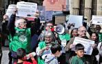 """La PAH alerta de una """"segunda fase de desahucios"""" en Navarra"""