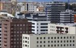 Bloques de viviendas de nuevas construcción en Lezkairu, Pamplona.