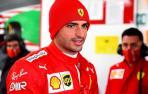 Carlos Sainz ha debutado como piloto de Ferrari al empezar las pruebas a bordo del monoplaza SF71H de 2018