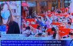 Para una cadena de televisión, Chivite es presidenta del País Vasco
