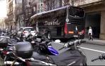 Fallece un joven motorista en el centro de San Sebastián