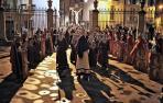 El paso del Cristo Alzado permanece en la catedral desde el traslado de 2020