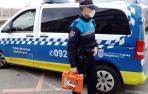 Policías municipales reaniman a un hombre que entró en parada cardíaca