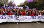La jueza archiva la causa de la manifestación del 8M en Madrid