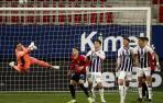 Osasuna y Valladolid se reparten los puntos para seguir en la lucha por la permanencia