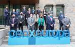 Participantes en la jornada 'Next Generation y cenxeuropa: claves para el futuro empresarial' organizada por la CEN