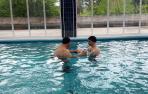 Salud valora retomar las terapias acuáticas un año después en Ubarmin y CHN
