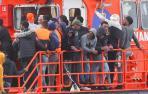 Llegan otros 340 inmigrantes a Canarias, entre ellos tres bebés