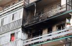 Una mujer ha fallecido y siete personas han sido evacuadas como consecuencia del incendio declarado en una vivienda de San Sebastián