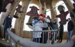 Fotos del grupo de campaneros de la Catedral de Pamplona