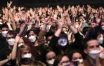 Galería del concierto de Love of Lesbian en el Palau Sant Jordi de Barcelona