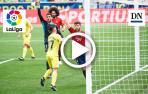 Resumen del Villarreal 1-2 Osasuna en vídeo: gol de David García en propia meta (1-1)