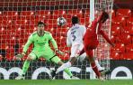 El Madrid maniata al Liverpool y accede a semifinales