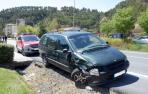 Un conductor embiste a tres coches en Sangüesa y da positivo en alcoholemia