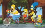 Fotografía de Los Simpsons