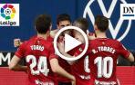 Resumen del Osasuna 3-1 Valencia en vídeo