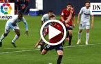 Resumen del Osasuna 3-1 Valencia en vídeo: gol de Roberto Torres (3-1)