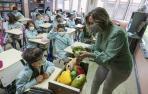 Las verduras se abren paso en las aulas de Tudela