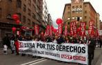 Arranca en Pamplona la manifestación de UGT y CC OO del  1 de Mayo