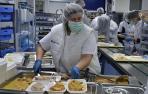 Las cocinas del CHN pueden preparar hasta 26.000 raciones